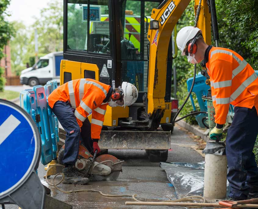 clc utilities water gas pipe repairs services