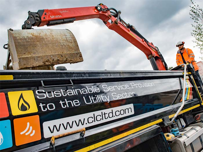 32-ton Grab Tipper Vehicles hire